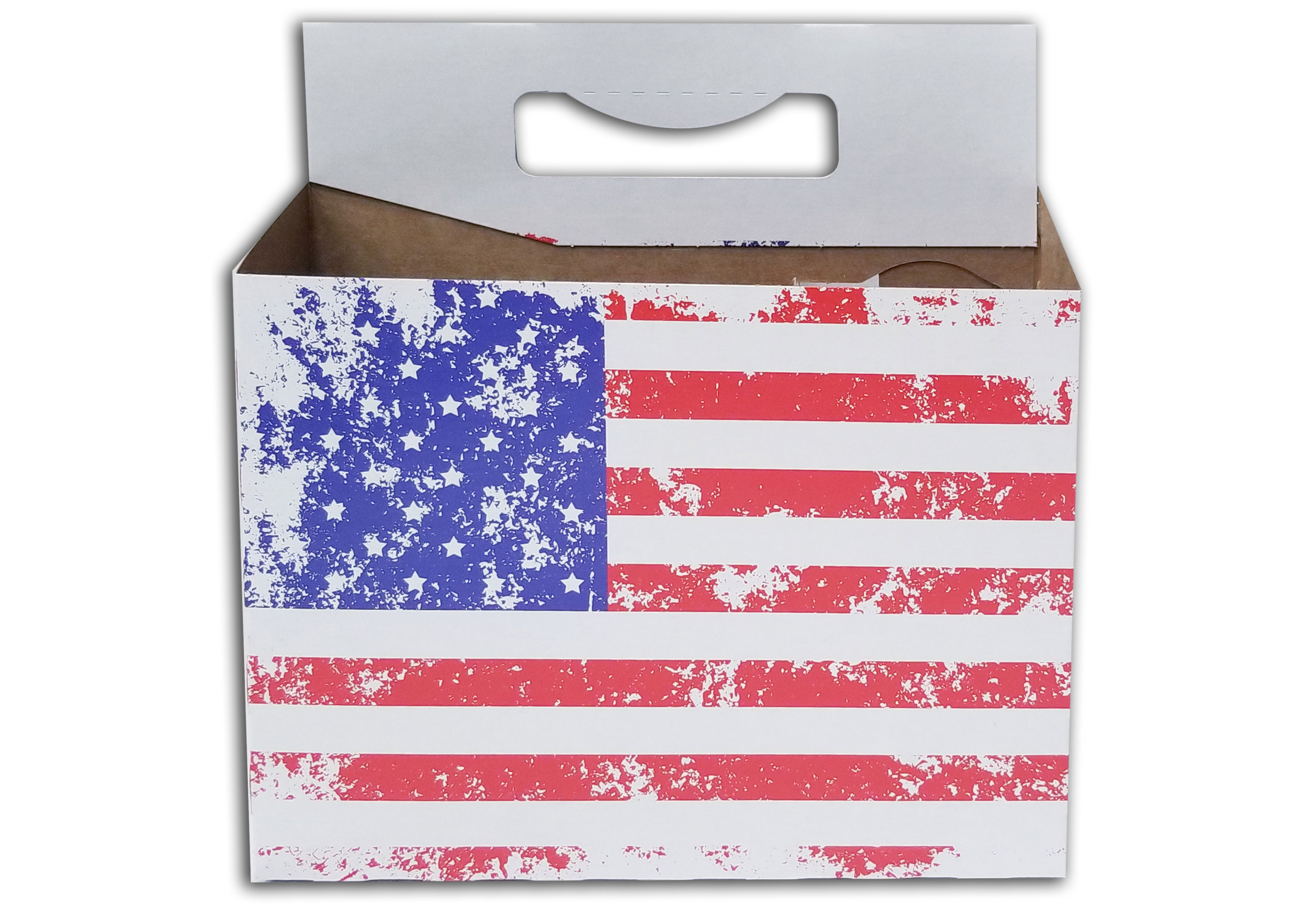 American Flag 12oz Bottle Carrier