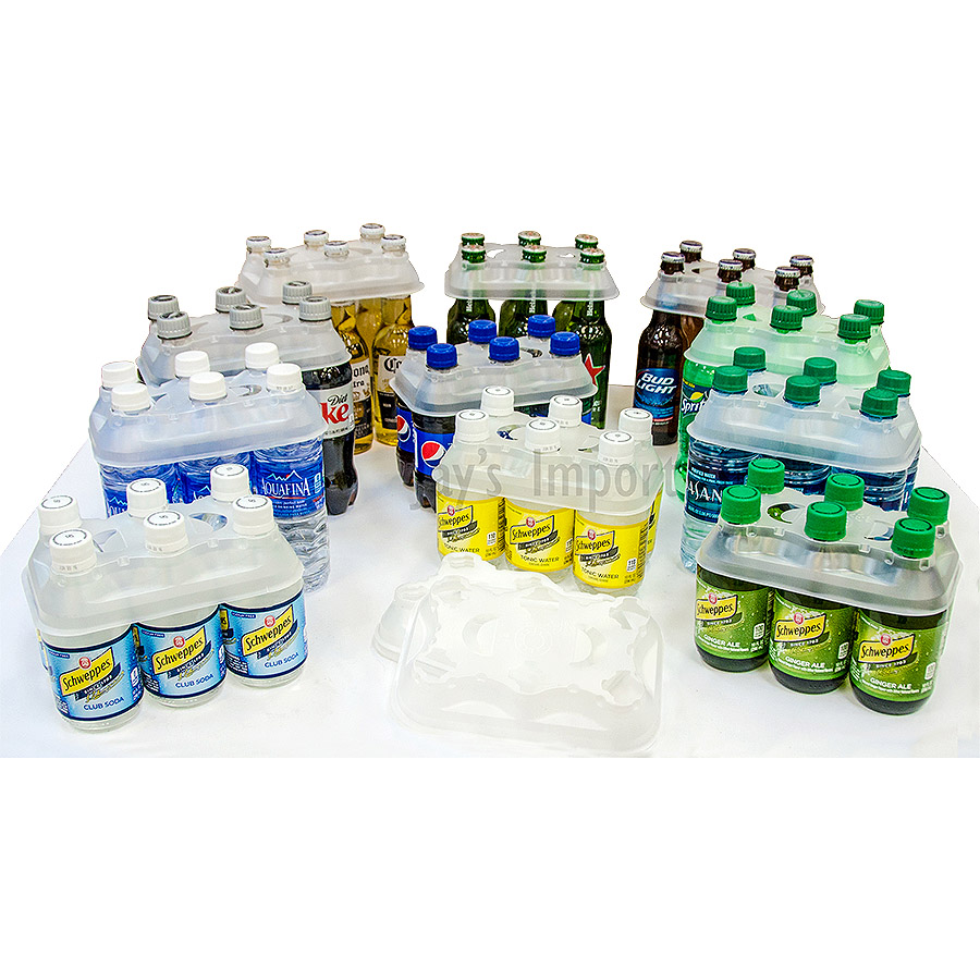 12oz - 16.9oz Plastic Bottle Carriers